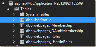 webpages membership tables