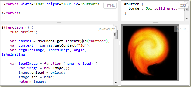 Cool down with Canvas and JavaScript