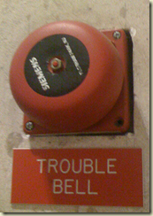 unit test warning bell
