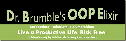 Dr. Brumble's OOP Elixir!