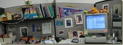 Messy Cubicle