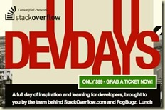 stackoverflow devdays