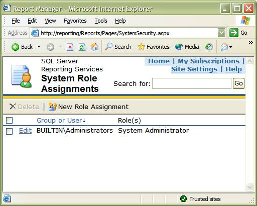 Introduction To Role-Based Security In SQL Server Reporting