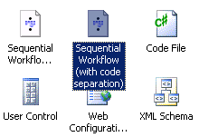 Creating a workflow with code seperation