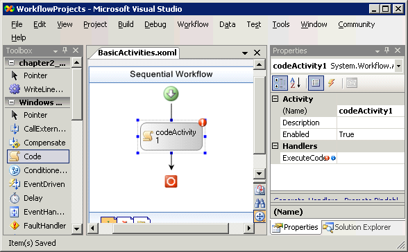 Windows Workflow: The Base Activity Library