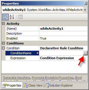 Windows Workflow: Rules and Conditions