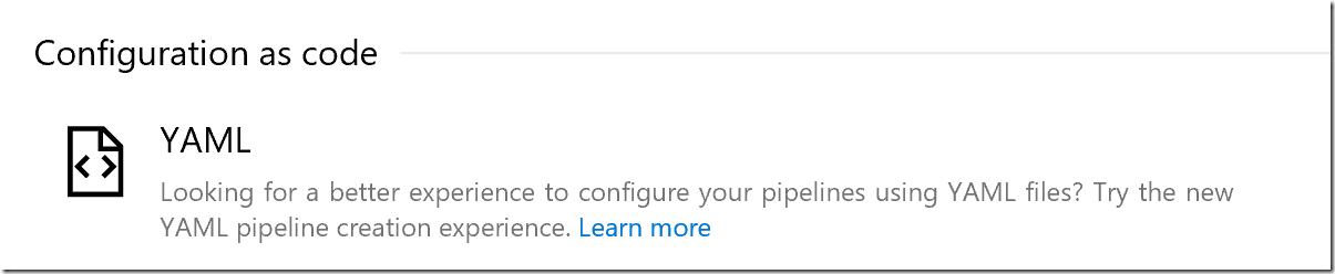 Configure Azure Pipelines with YAML