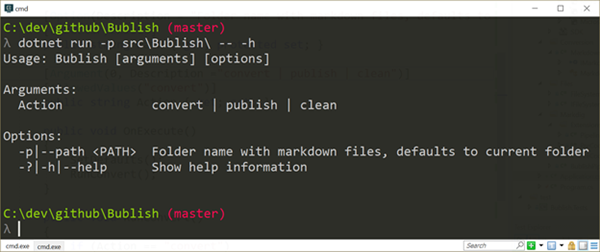 CLI Help Text Made Easy