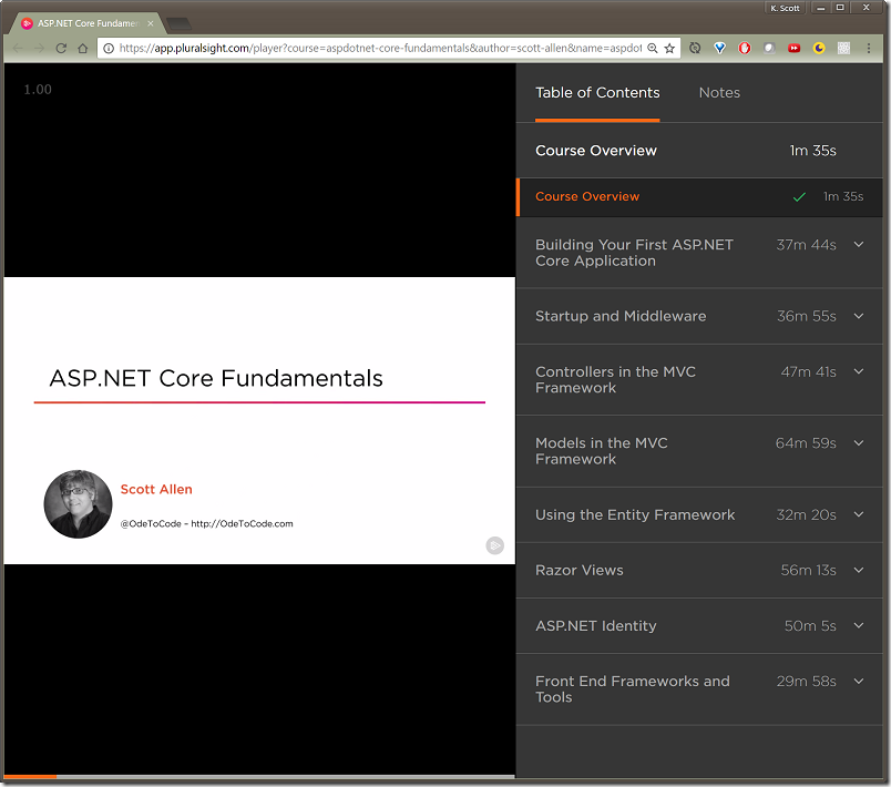 ASP.NET Core Fundamentals