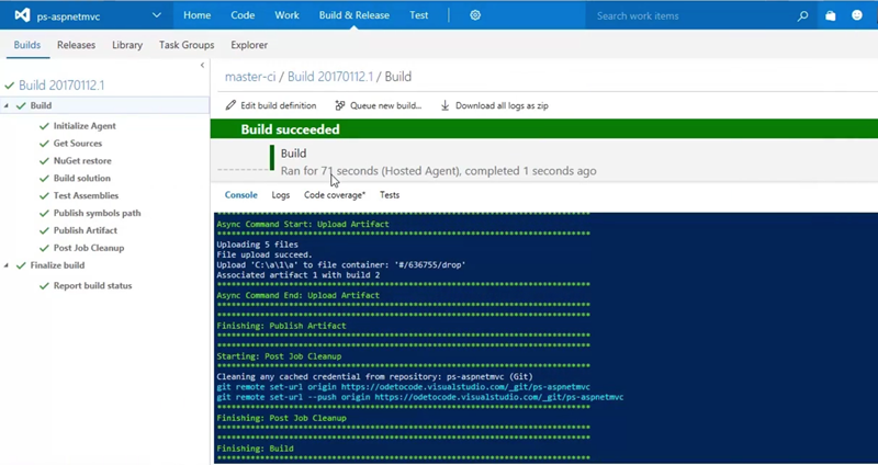 Developing with  NET on Microsoft Azure