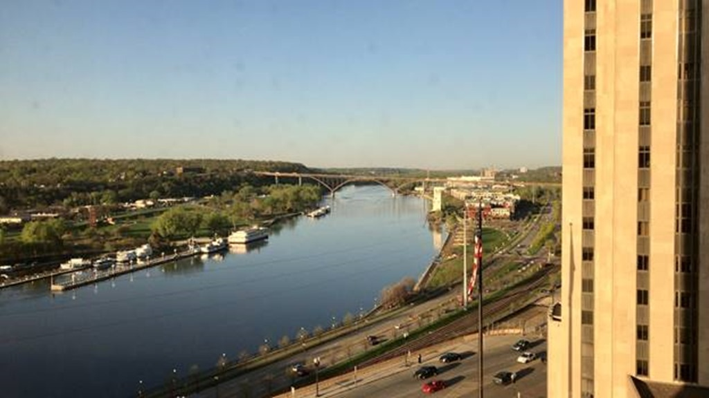 View of the Mississippi River at NDC