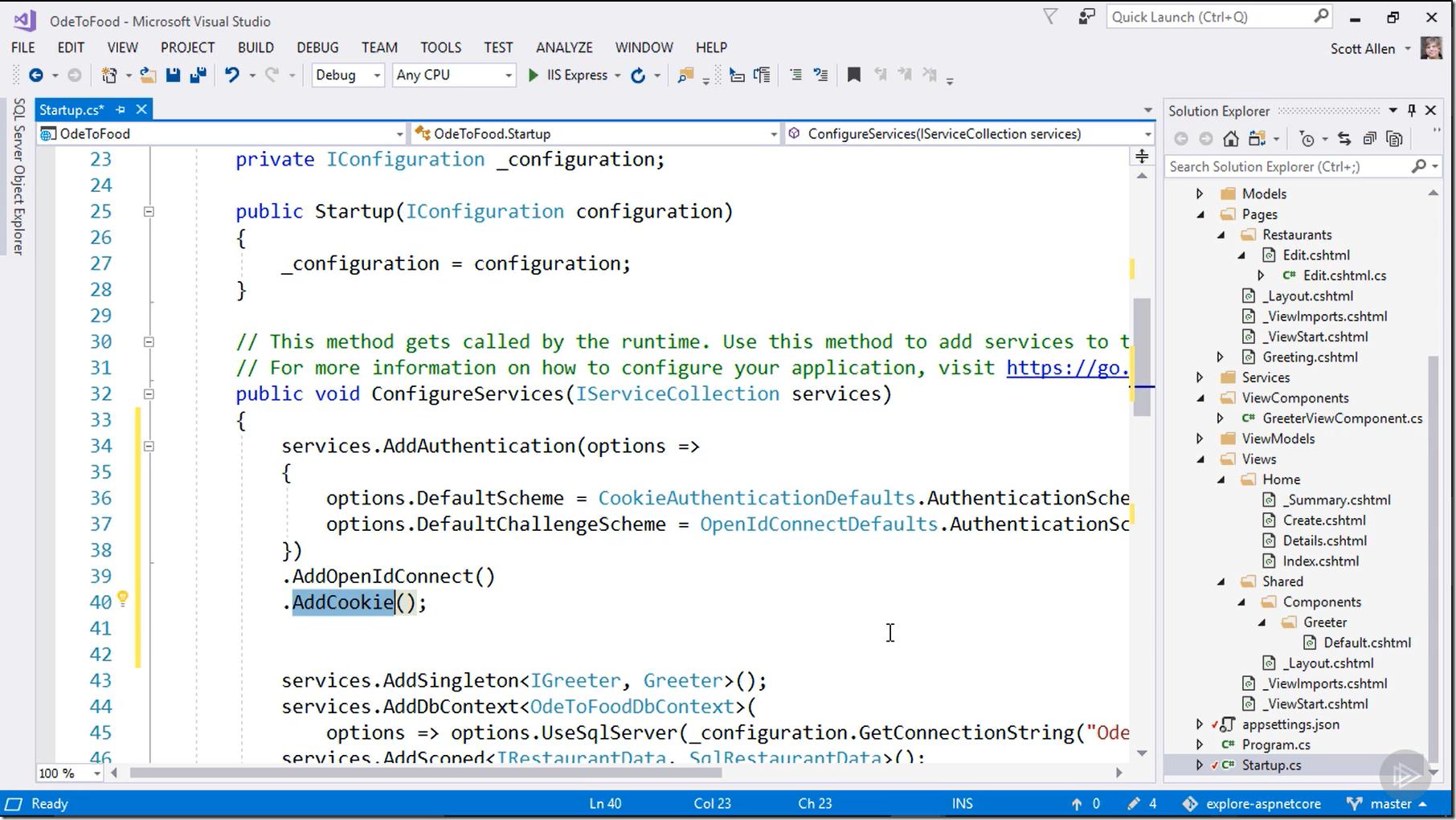 ASP.NET Core 2 Fundamentals