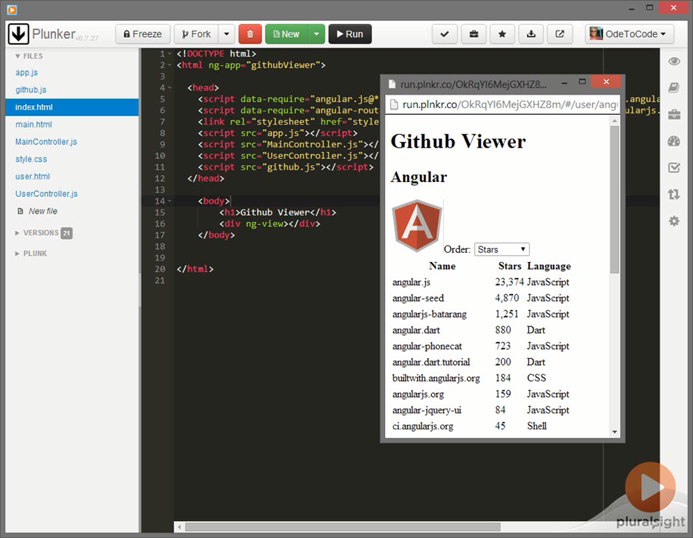 AngularJS: Get Started Video Course