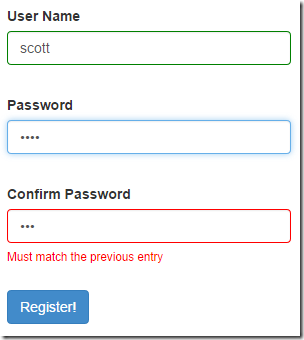 Confirm Password Validation in AngularJS