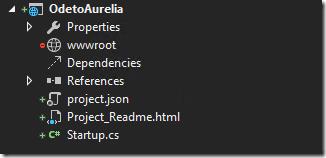 ASP.NET 5 Empty Project