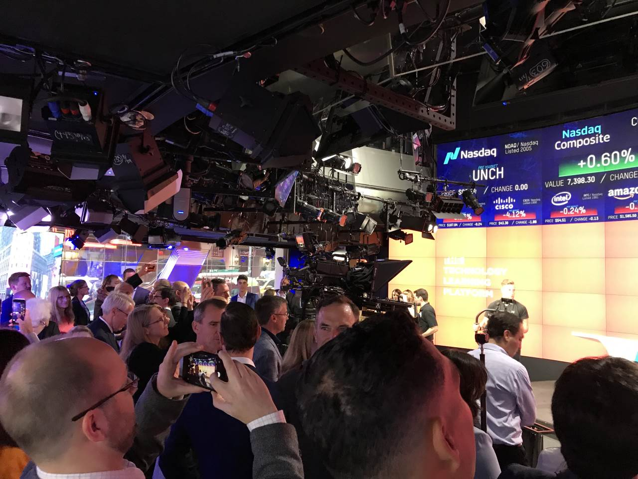 The NASDAQ Media Room