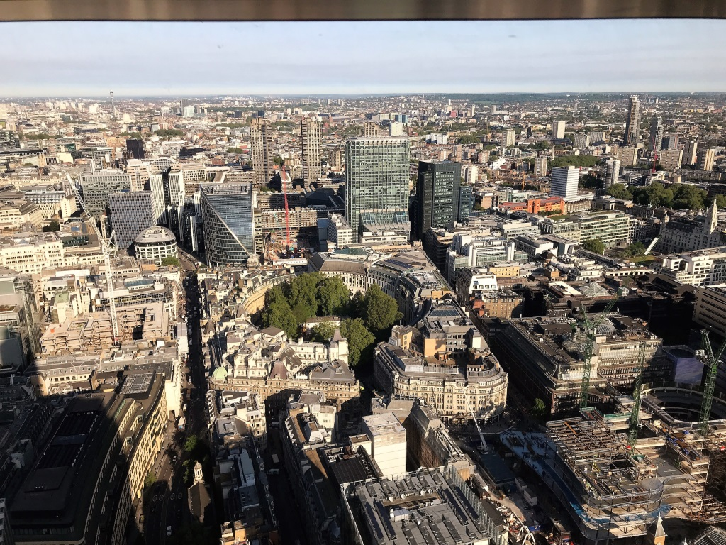 View from the Duck and Waffle